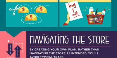 20 Supermarket Tips To Save Money {Infographic}
