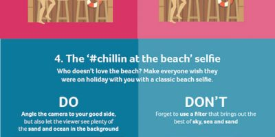 How to Take the Perfect Holiday Selfie {Infographic}