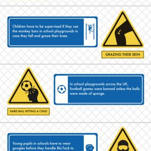 Absurd Health and Safety Laws {Infographic}