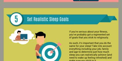 10 Sleep Hacks for Athletes {Infographic}