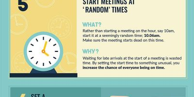 10 Productivity Hacks for Business Meetings {Infographic}