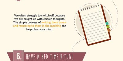 10 Ways To Turn Off Your Brain [Infographic]