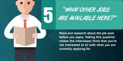 10 Interview Questions that Make You Sound Dumb [Infographic]