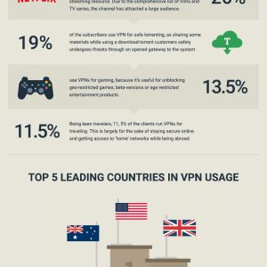 What Do Internet Users Hide By VPNs? [Infographic]