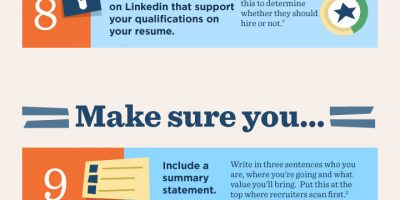 How to Improve Your Resume [Infographic]