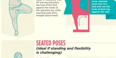 A Guide to Plus-size Yoga [Infographic]
