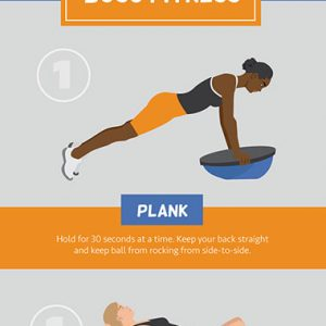Using a BOSU Ball for Full-Body Fitness [Infographic]