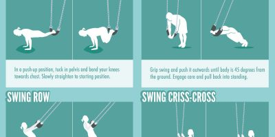20 Playground Full-Body Exercises [Infographic]
