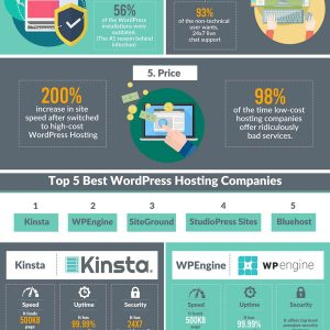 Best WordPress Hosting Providers Infographic