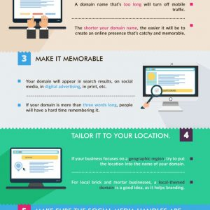 10 Steps To Pick the Perfect Business Domain Name [Infographic]