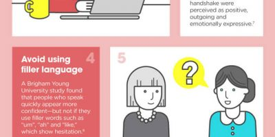 How to Make a Good First Impression [Infographic]