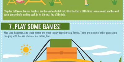 Surviving a Road Trip with Kids [Infographic]
