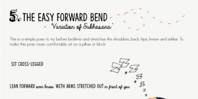 Bedtime Yoga Chart