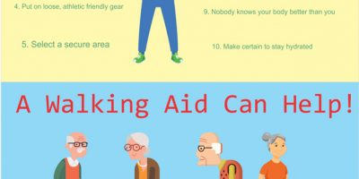 Health Benefits of Walking for Seniors [Infographic]