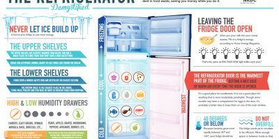 The Refrigerator Demystified [Infographic]