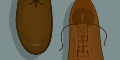 Shoelace Guide for Gentlemen [Infographic]