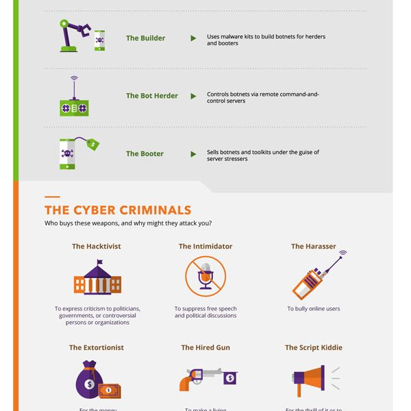 The Anatomy of a DDoS Attack - Best Infographics