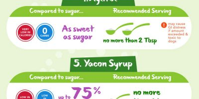 Natural Low Carb Sweeteners Compared