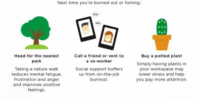 How to Beat Stress & Stay Happy [Infographic]