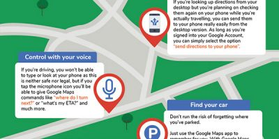 17 Google Maps Hacks for Business Travelers