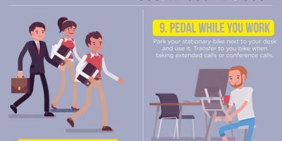 15 Ways to Stay Fit At Work