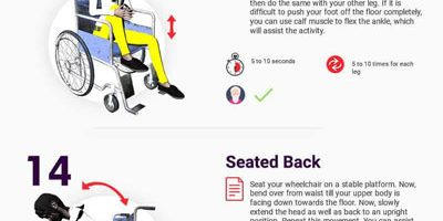 25+ Exercises for Wheelchair Users