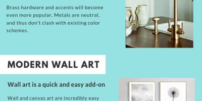 2019's Top 4 Home Decor Trends [Infographic]