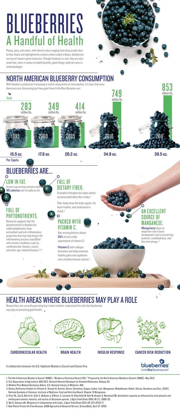 blueberries benfits