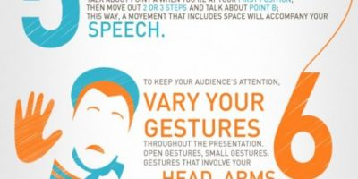 10 Body Language Tips For Presentations {Infographic}