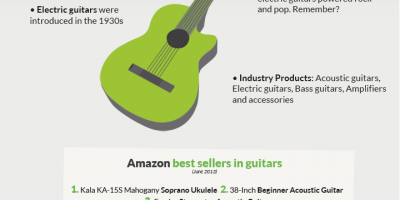 Most Popular Musical Instruments Infographic