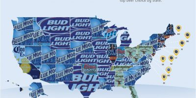 Beer of Choice in the U.S. {Infographic}