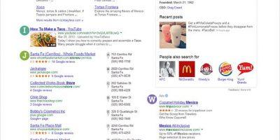 Google's Mega SERP Infographic