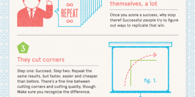 5 Weird Habits of Successful People Infographic