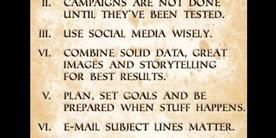 10 Commandments of Marketing [Infographic]