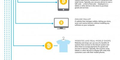 Anatomy of #Bitcoin Infographic