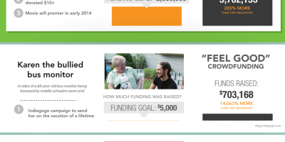 Successes and Failures of Crowdfunding {Infographic}