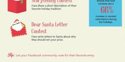 Facebook Holiday Contest Ideas {Infographic}
