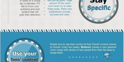 10 Ways To Boost Your Facebook Page Engagement {Infographic}