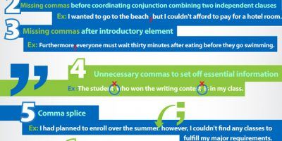 Grammar Mistakes You Should Be Avoiding {Infographic}