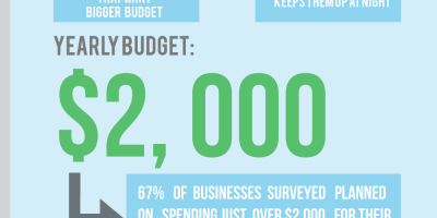 All About Small Business Marketing Budgets {Infographic}