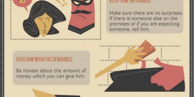 What To Do During an Arm Robbery? {Infographic}