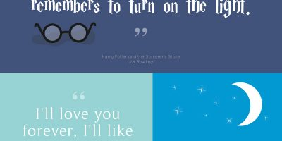 Inspiring Children's Book Quotes {Infographic}