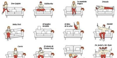 Favorite Reading Positions {Infographic}
