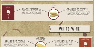 Wine & Cheese Pairings {Infographic}