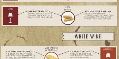 Wine & Cheese Pairings {Infographic}