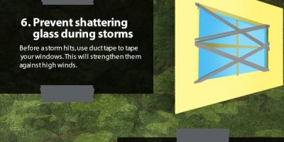 12 Survival Things You Can Make with Duct Tape {Infographic}