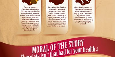 Chocolate Facts & Myths {Infographic}