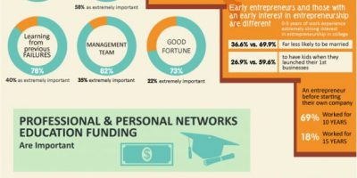 What Makes a Successful Entrepreneur {Infographic}
