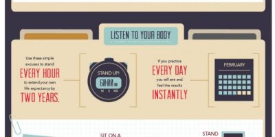 How to Extend Your Life At Work {Infographic}
