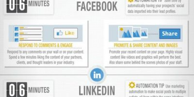 Social Media: 30 Minutes a Day {Infographic}